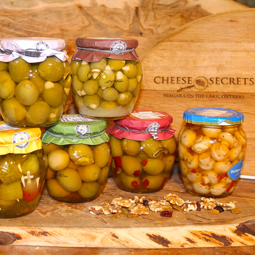 Assorted Stuffed Olives & Mushrooms (580ml)