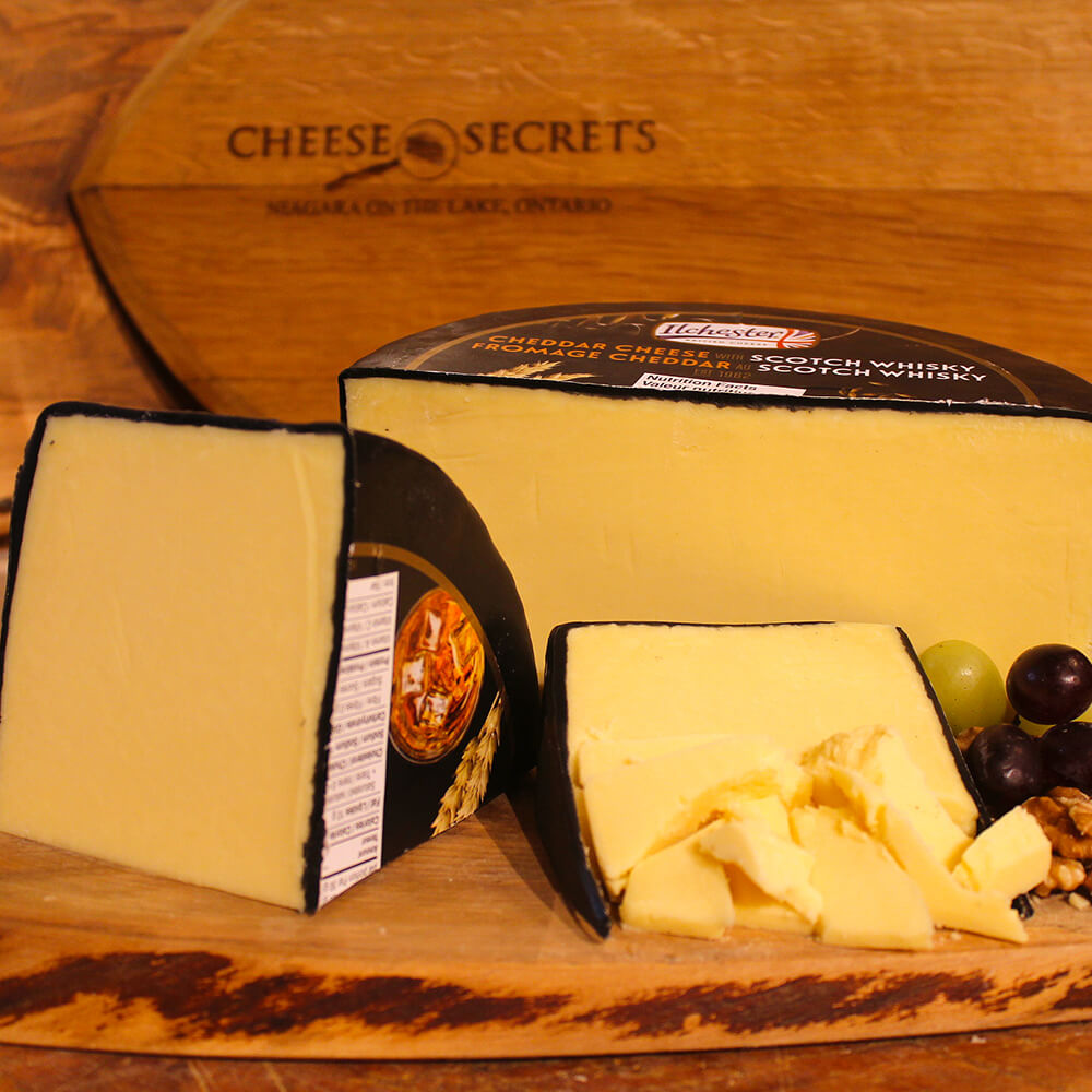Cheddar Cheese with Scotch Whiskey (100g)