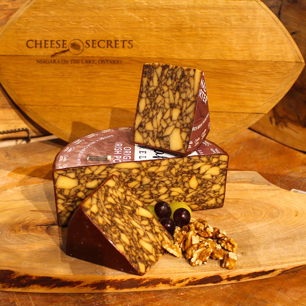 Irish Porter Cheddar (100g)