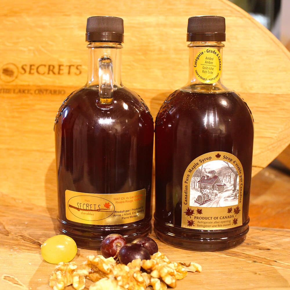 Maple Secrets - Canadian Maple Syrup (750ml)