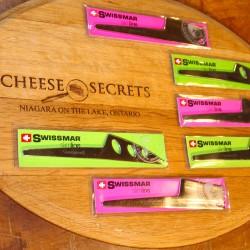 "Swissmar Cheese Knives (7.5"")"